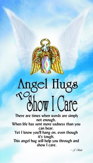 1056 Angel Hug to Show I Care