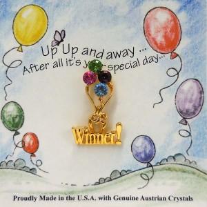 51-318-LT  Pastel Winner Balloons