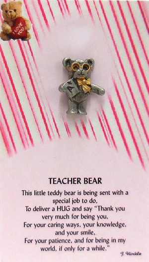PK-7083-S   Teacher Bear