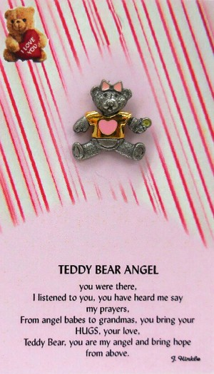 PK-7084-GIRL  Teddy Bear Angel