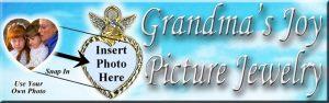 Grandma's Joy Picture Pins