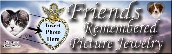 Friends Remembered Pet Picture Jewelry