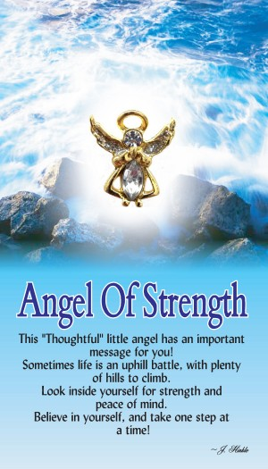 Angel of Strength Pin