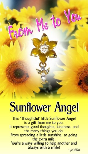 1216 Sunflower Angel