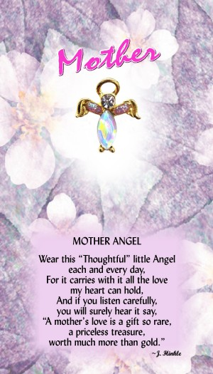 631 Mother Angel Pin