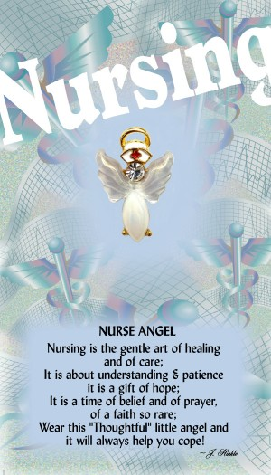 Nurse Angel Pin