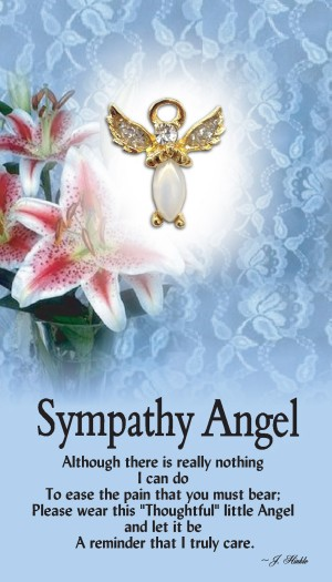 Sympathy Angel Pin