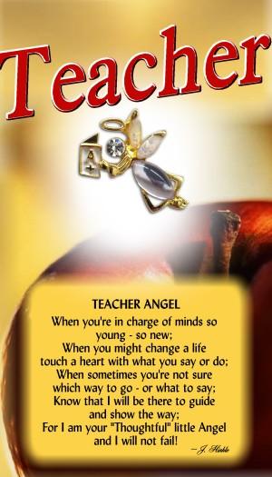 695 Teacher Angel