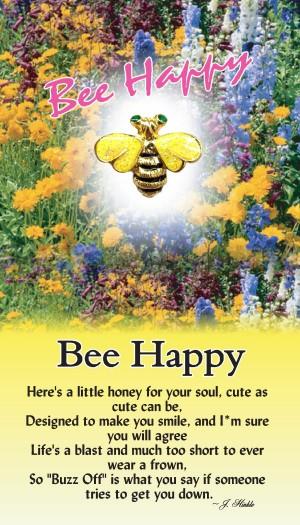 7044 Bee Happy Bee