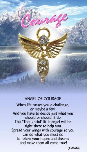 744 Angel of Courage Angel