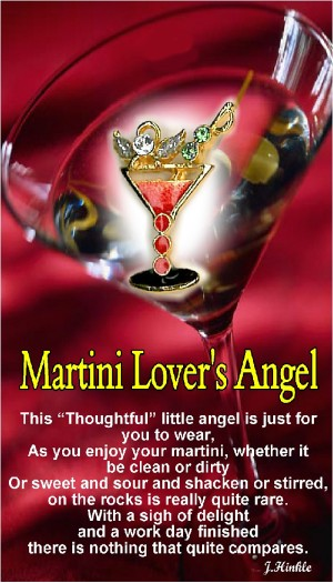 9120  Martini Lover's Angel