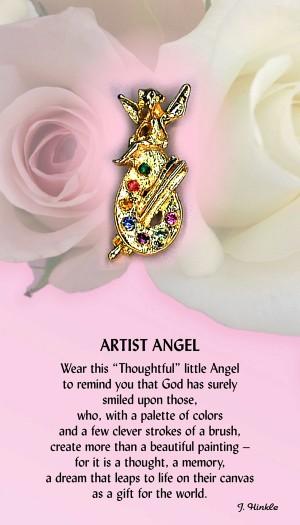 PK-505  Artist Angel